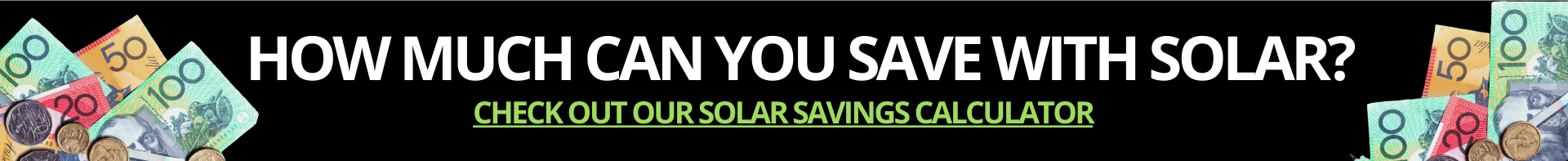 """Wondering """"How much can you save with Solar?"""" Check out solar force savings Calculator with Perth Solar Force"""