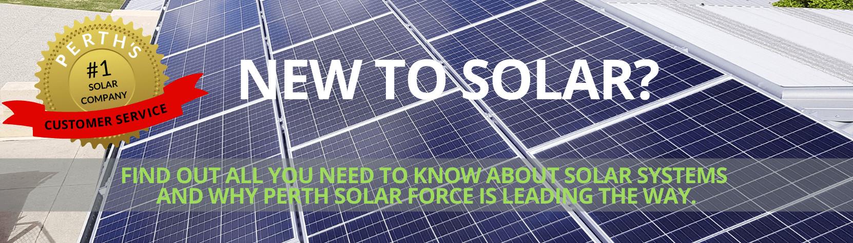 New to Solar? Leading Solar Power Systems Company