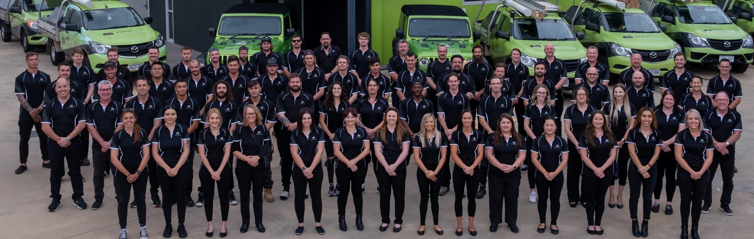 Team Members of Perth Solar Force